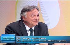 Dr. Jorge Iapicciono : El eje de la Politica de Salud debe ser el Hospital Público