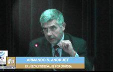 Mesa redonda 6. Bioetica y Politicas Publicas : Discurso Armando S. Andruet