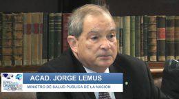 El Ministro Dr. Jorge Lemus abrió la Jornada Debate de una nueva Ley de Medicamentos.