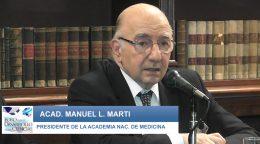 Jornada debate de Una nueva Ley de Medicamentos: Discurso  Dr. Manuel L. Martí