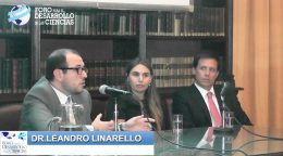 Discurso: Dr. Leandro Linarello