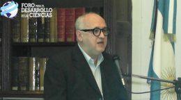 Discurso: Dr. Sergio Volman