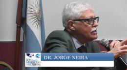 """""""La calidad de atención y la seguridad del paciente. Su influencia sobre la litigiosidad"""" Dr Jorge Neira"""