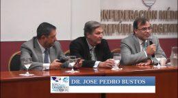 Dres. Oscar Cochlar y José Pedro Bustos. Coordinación y conclusiones Dr. Luis Scervino.
