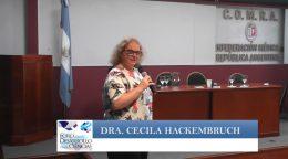 """A 10 años de la reforma de Salud en Uruguay. Asuntos pendientes"""" Dra. Cecilia Hackembruch."""